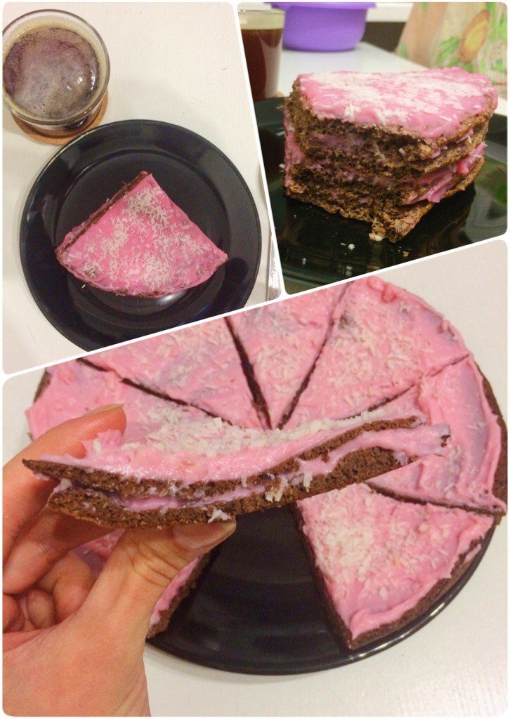 Домашний ПП тортик с казеином