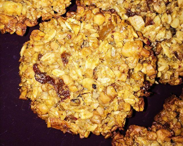 Рецепт домашних овсяных печенек